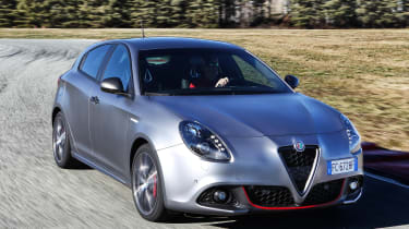 Alfa Romeo Giulietta - facelift front
