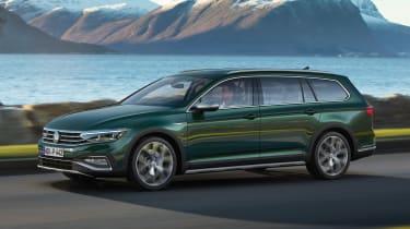 Volkswagen Passat Alltrack - front action