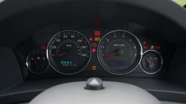 Used Jeep Grand Cherokee - dials