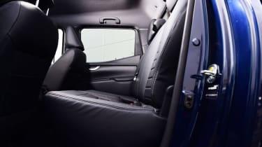 Mercedes X 350 d long-term test - second report rear seats