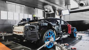 Bugatti Chiron dyno