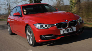 BMW 320d Sport front tracking
