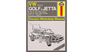 Haynes manual - VW Golf