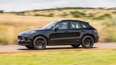 Porsche Macan 2018 prototype side