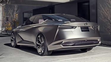 Nissan Vmotion 2.0 concept - rear quarter