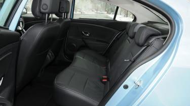 Renault Fluence Z.E. rear seats