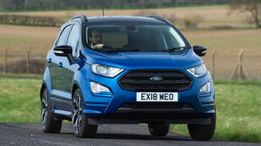 Ford EcoSport - front cornering