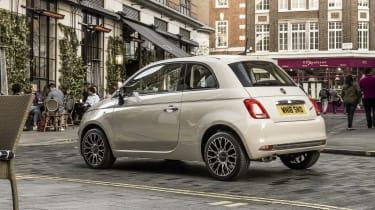 Fiat 500 rear static