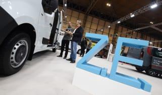 Electric Renault vans