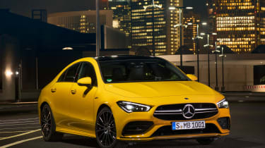 Mercedes-AMG CLA 35 - front night