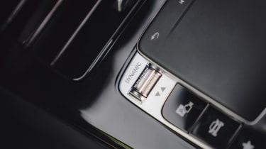 Mercedes A-Class - drive mode button