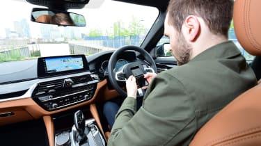BMW 5 Series long termer - first report interior