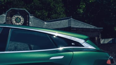 Tesla Model S Shooting Brake estate rear window