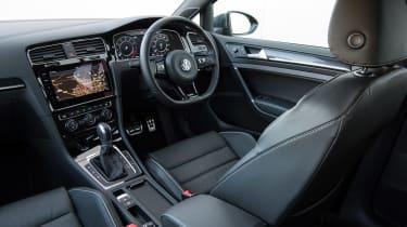 VW Golf R - interior