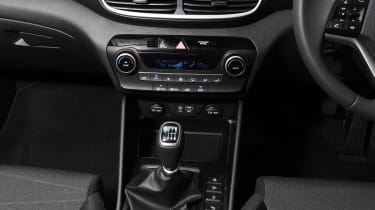 Hyundai Tucson - centre console