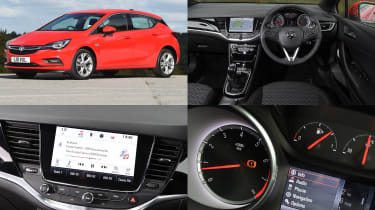 Vauxhall IntelliLink infotainment system - test car: Vauxhall Astra