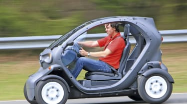 Renault Twizy Driving