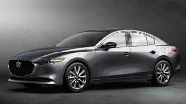 Mazda 3 Fastback - front studio