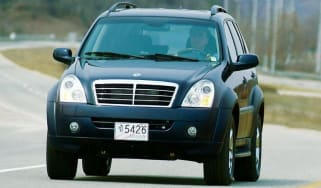 Front view of SsangYong Rexton II
