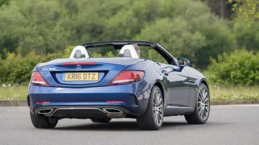 Used Mercedes SLC - rear cornering