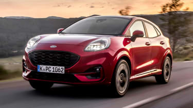 Ford Puma - front tracking