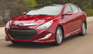 Hyundai Sonata Hybrid front