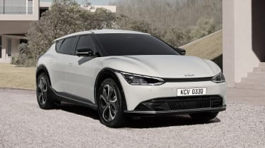 Kia EV6 reveal - front