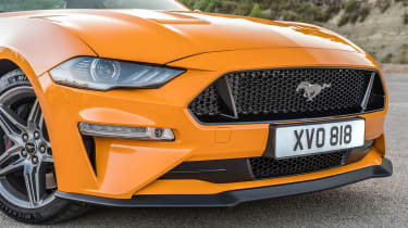 2018 Ford Mustang front close up