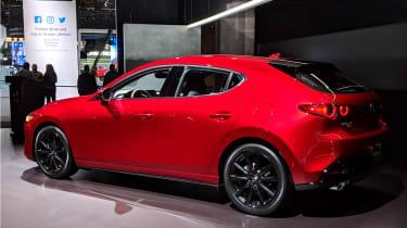 New Mazda 3 at LA motor show