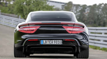 Porsche Taycan - full rear