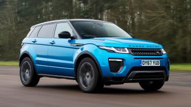 Range Rover Evoque - Front Motion