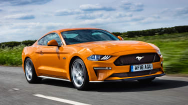 Ford Mustang - side tracking