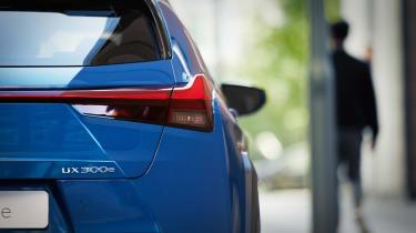 Lexus UX 300e - rear detail