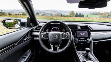 Honda Civic 2016 prototype - interior