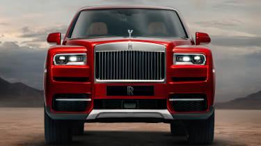 Rolls-Royce Cullinan SUV - front