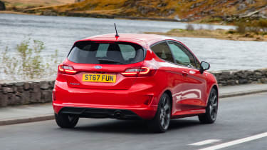 New Ford Fiesta ST-Line - rear tracking