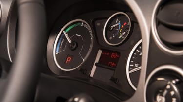 Citroen E-Berlingo Multispace - dials
