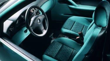 BMW E1 - interior