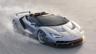 Lamborghini Centenario Roadster tracking