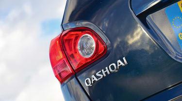 Nissan Qashqai Mk1 - rear detail