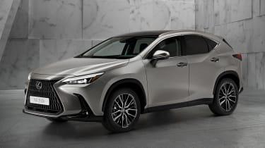 Lexus NX - silver front