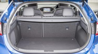 Hyundai IONIQ EV 2016 UK - boot space