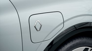 Renault Megane E-Tech Electric SUV - charging port closed