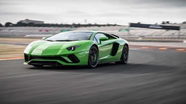 Lamborghini Aventador S - front action