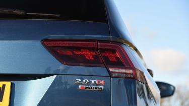 Volkswagen Tiguan Allspace - rear light