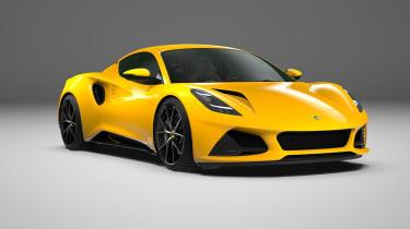 Lotus Emira yellow