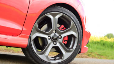 Ford Fiesta ST 5-door - wheel detail
