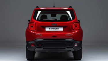 Jeep Renegade PHEV - rear