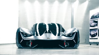 Lamborghini Terzo Millennio - full front garage