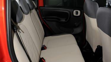 Fiat Panda TwinAir rear seats